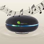 Das Musik-Entspannungsprogramm von fitterbrain können Sie entweder über den eingebauten Lautsprecher oder über Kopfhörer genießen.