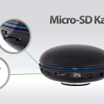 Am fitterbrain Gerät findet sich ein Slot mit einer Micro-SD Karte. Auf dieser Karte findet sich das spezielle Entspannungsprogramm nach der Musica Medica Methode.